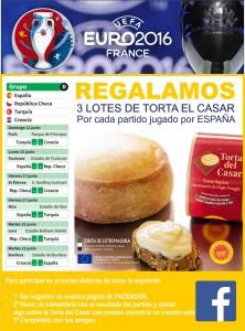 PROMO TORTA DEL CASAR EUROCOPA FACEBOOK