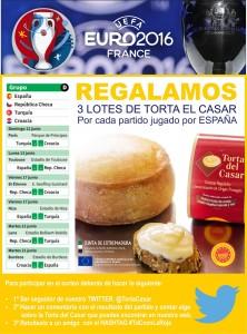 PROMO TORTA DEL CASAR EUROCOPA TWITTER