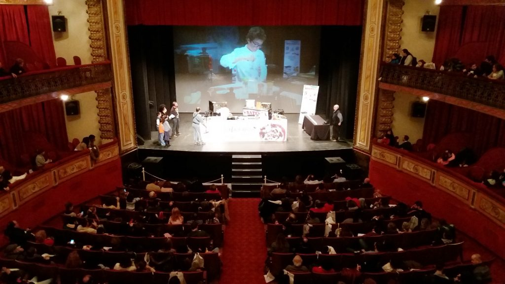 """El festival """"Tentación-es"""" de 2016 en el Gran Teatro de Cáceres"""